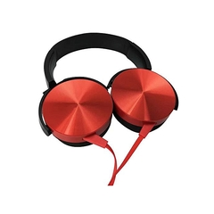 Head phones (extra bass) red