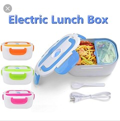 Electric lunch box multicolor