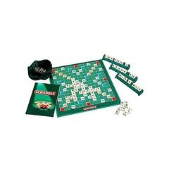 Scrabble game Multicolour