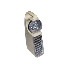 Emergency rechargeable lamp white normal