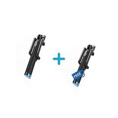Selfie sticks (2 pieces Blue and black normal