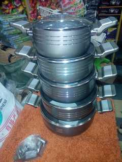 Modern sufuria(aluminium) silver normal