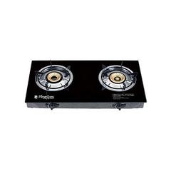 Gas cooker burner black