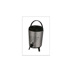 Stainless steel Jug  9.5l silver Keep hot or cold