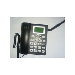 Gsm phone for office and home with sim slot fm radio black normal