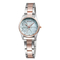 Sparkling Lustrous Steel Strap Skone 72912 Wrist Ladies Watch