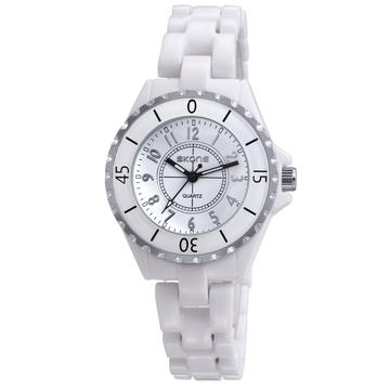Elegant Fine-Tuned Skone Sporty Fashion Model 72411 Ladies Watches