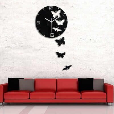 Ultra Modern Decorative Wall Clock - 3D T5430