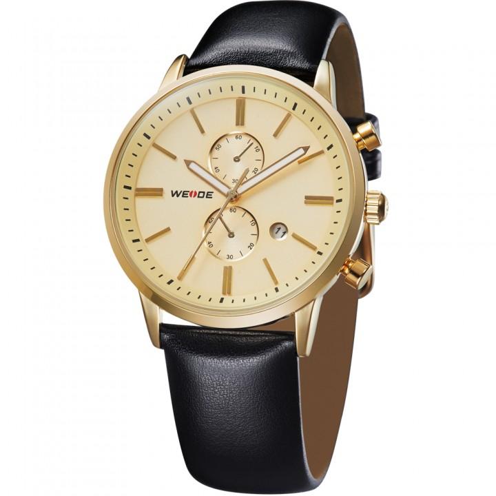 Weide Classic Gold Men Watch WH3302G-2C