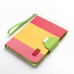 Unique IPAD 2/3/4 Cover – Multi Color Pattern WPYP001