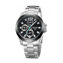 Skone Illuminator Men Watches 70631 Black