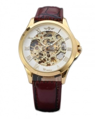 Automatic Mechanical Men Watch WN084 brown 30