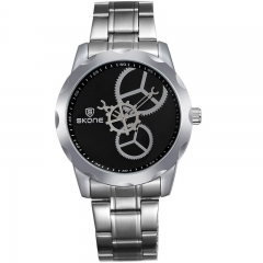 Skone Le Locle Steel Gents Watch 7355-2