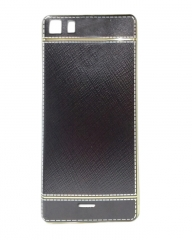 INFINIX Zero 3 (X552) Back Cover - Black With Leather Finish black 5.5