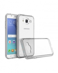 Samsung Galaxy J7 Back Cover - Clear With Clear Edges clear 5.2