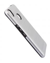Tecno CX Air Back Cover- Armor case Silver silver 5.5