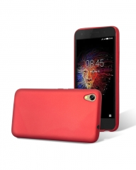 INFINIX HOT 5 Lite (X559) Back Cover - Silicone Rubber Finish Red red 5.5