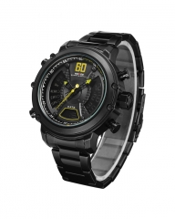 Precionist Men Watch - Black black 5