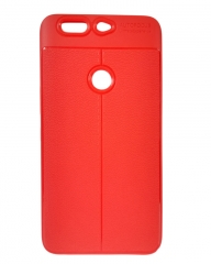INFINIX Zero 5 (X603) Back Cover - Rubber Finish Red red 5.5