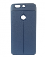 INFINIX Zero 5 (X603) Back Cover - Rubber Finish Blue blue 5.5