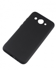 Huawei Y3 2017 Back Cover - Silicone Rubber Finish Black black 5.5