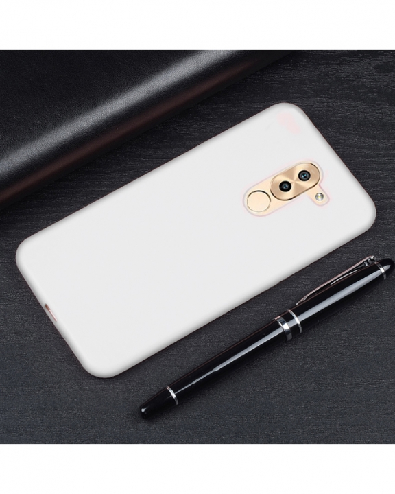 Huawei GR5 2017 Back Cover - Silicone Frosted-Clear Finish clear frosted finish 5.5