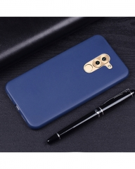 Huawei GR5 2017 Back Cover - Silicone Rubber Finish Blue blue 5.5