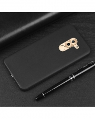 Huawei GR5 2017 Back Cover - Silicone Rubber Finish Black black 5.5