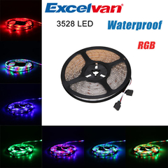 Excelvan 16.4ft 5M Waterproof Flexible Strip LED Light Strip as the picture 5m 4W~18W