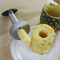 OUTU Stainless Steel Pineapple Peeler/Corer/Slicer Silver One Size