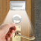 L0403 Infrared Radiation Motion Activated Auto PIR Keyhole Lamp 4 LEDs Light