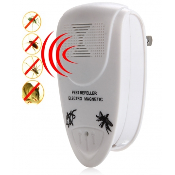 Ll - 3110 Ultrasonic Electric Pest Repeller Home Indoor Pest Control Solution as the picture One Size