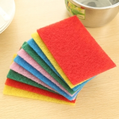 DIHE Scouring Pad Wash The Dishes Cleaner Multicolour 10PCS Colormix one size