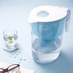 VIOMI 3.5L Hyper-energy Water Filter Pitcher Filtration Dispenser Cup with Lid Spout Blue one size