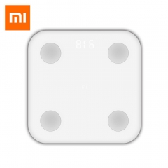 Xiaomi Bluetooth 4.0 Body Health Scale Smart Digital Personal Weighing Tool White one size