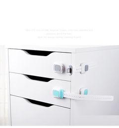 Baby Safety Cabinet Lock Strap Children Protection Safety Protection Wardrobe Proof