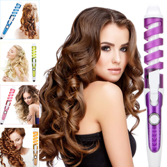 Hair Curler Spiral Curling Iron Fast Heating Curling Wand Electric Hair Styler Pro Styling Tool 1 normal