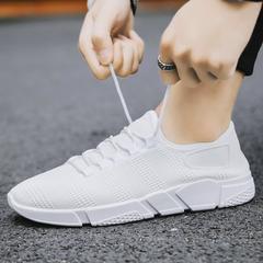 ShoeAll 1 Pair Quality Casual sports Rubber sport Sole Men Shoes ba2 white 39=24.5cm