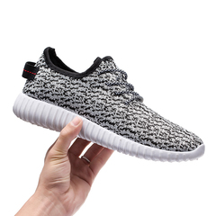 Breathed Yeezy Shoes Sports Shoes Running Shoes white black 39=24.5cm