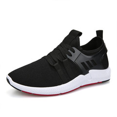 Brand New Casual Sport Shoes Breathable Flat Sneakers Lace Up Running Shoes For Outdoor Training 429 black 39=24.5cm