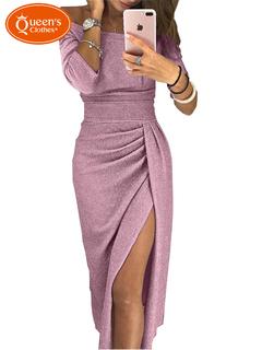 2019 New line, new lady, pop dress, dress dinner pink s