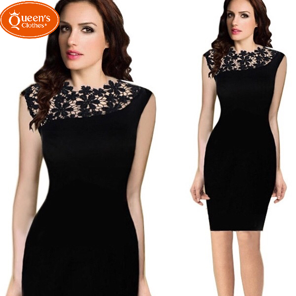 2019 New product, low price buying, sleeveless hanging neck, splicing, dress black xl 15