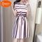 New, special, sales, minimum price, dress, stripes, straight down 1000, current price KSH499 pink l