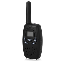 8 Channel Twin Walkie Talkies  2-Way Radio 3KM Range Interphone Black