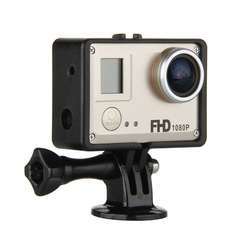 AMKOV Sport Camera DVR Waterproof WiFi Video Recorder Gold One size