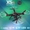 Syma X5SC New Version Syma X5SC-1 Falcon Drone HD Camera 4 Channel 2.4G Remote Control Quadcopter Black One Size