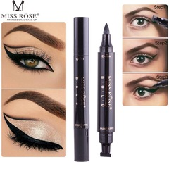 Dual Ended Eyeliner Luxury Waterproof Sweat-proof Hot Sale Black