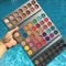 Hot Sale New Fashion 63 Colors Makeup Glitter Eyeshadow Beauty Glazed Eyeshadow Picture