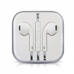 Earphone Stereo Earpiece In-Ear 3.5MM High Quality With MIC For Apple Android Phone White