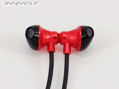 Wireless Sports Bluetooth Earphones High Quality Headset For iOS And Android Running Gym Magnetic red